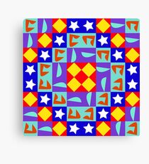 Modular pattern Canvas Print