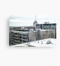 Downtown Cityscape Canvas Print