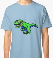 Cool Dinosaur - Pixels Classic T-Shirt
