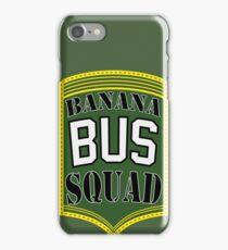 Banana Bus Squad - Military Style iPhone Case/Skin
