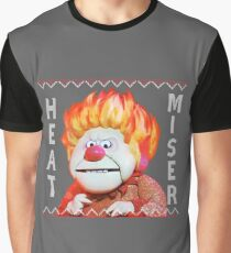 Heat Miser Ugly Sweater Graphic T-Shirt