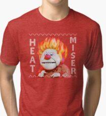 Heat Miser Ugly Sweater Tri-blend T-Shirt