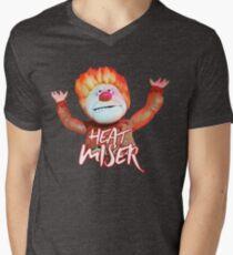 Heat Miser Men's V-Neck T-Shirt