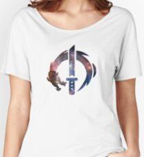 Genji Logo - Galaxy Women's Relaxed Fit T-Shirt