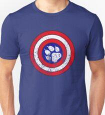 Captain Pupmerica (Distressed)  Unisex T-Shirt