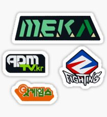 DVa Logo Stickers Sticker