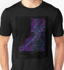 USGS TOPO Map Arkansas AR Powhatan 260258 1935 62500 Inverted Unisex T-Shirt