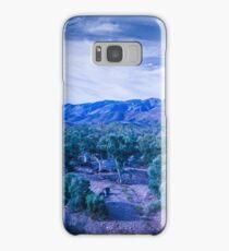 Blue Landscape Samsung Galaxy Case/Skin