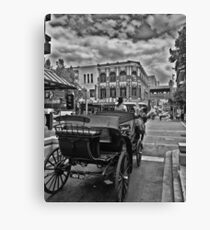 Melbourne Horse And Buggy Ride Canvas Print