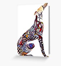 Un Galgo Andalou Greeting Card