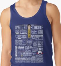The Wise Words of Dwight Schrute (Dark Tee) Tank Top