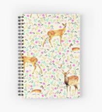Cuaderno de espiral Deers #redbubble #lifestyle
