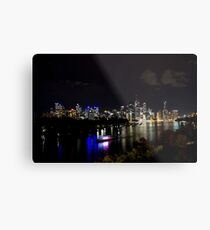 Overlooking The Brisbane River Metal Print