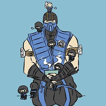 The Lin Kuei by sketchydrawer