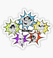 The Aquabats! Awesome Forces! Sticker