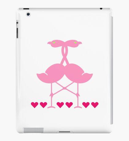 The Flamingo Lovers VRS2 iPad Case/Skin