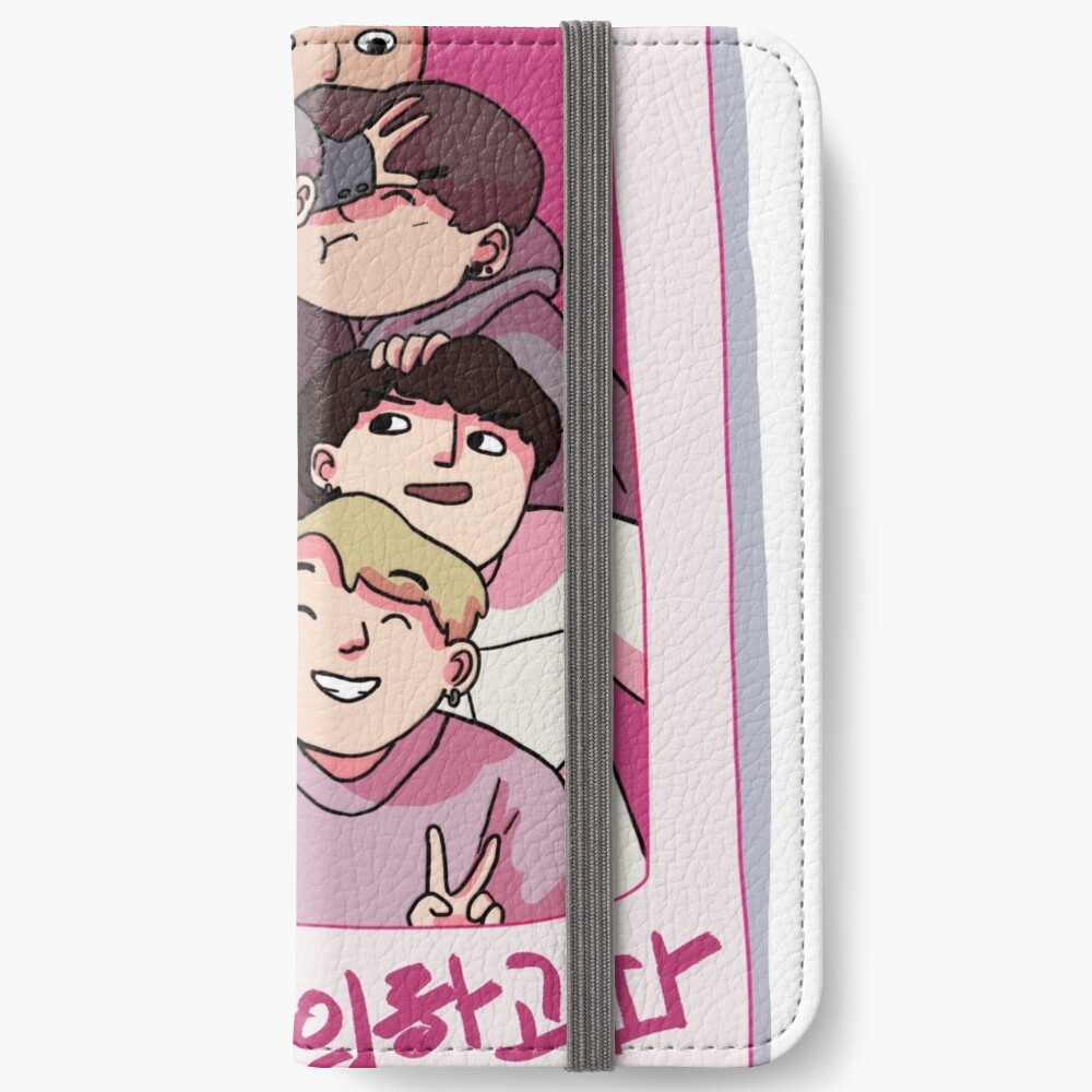 young forever Fundas tarjetero para iPhone