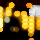Abstract Bokeh Lights II by Beverly Claire Kaiya