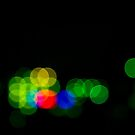 Abstract Bokeh Lights III by Beverly Claire Kaiya