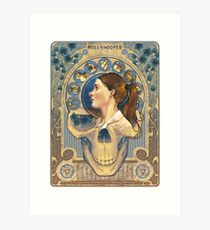 Molly Hooper Art Nouveau Art Print
