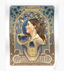 Molly Hooper Art Nouveau Poster