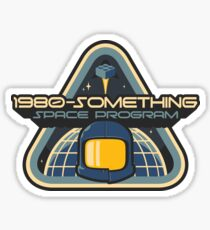 1980-Something Space Program Sticker