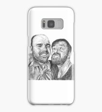 Karl Pilkington & Ricky Gervais - the world need more of em!! Samsung Galaxy Case/Skin