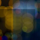 Abstract Bokeh Lights VI by Beverly Claire Kaiya