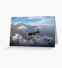 Vickers Wellingtons Greeting Card