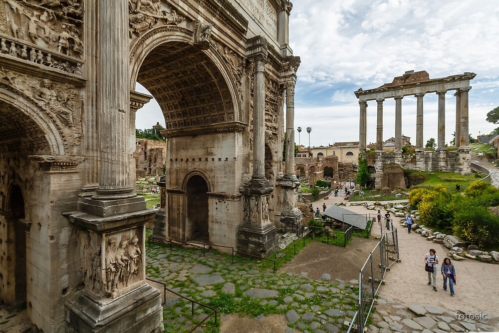 Arch of Septimius Severus by fotosic