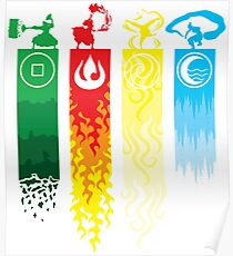 Avatar- Four Elements Poster