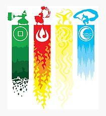 Avatar- Four Elements Photographic Print