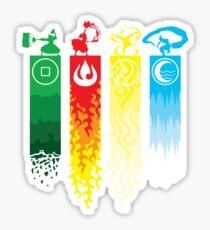 Avatar- Four Elements Sticker