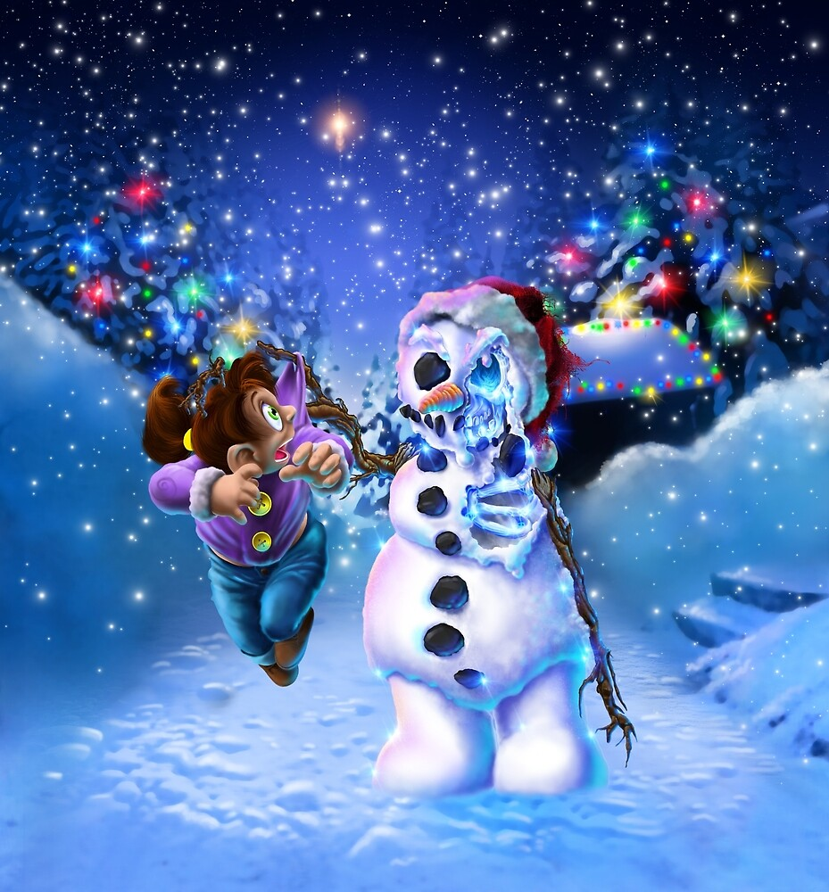 undead snowman  by ProgenyofLight