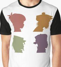 Gorillaz Music Band Graphic T-Shirt