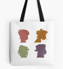 Gorillaz Music Band Tote Bag