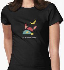 Sapphire Fox Tailliertes T-Shirt für Frauen