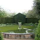 Hidcote fountain by Denzil
