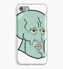 Meme squidward iPhone Case/Skin