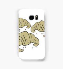 cartoon croissants Samsung Galaxy Case/Skin