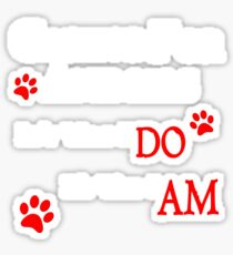 Caring For Animals Cute Cat Dog Pet Lover Design Sticker