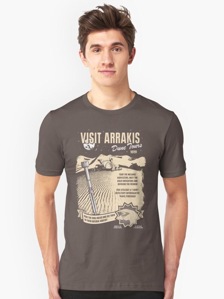 Visit Arrakis Unisex T-Shirt Front