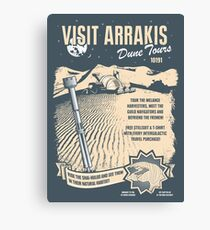 Visit Arrakis Canvas Print