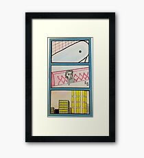 Comic Strip Framed Print