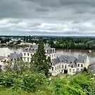 Loire, Saumur,France by Denzil