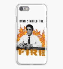 The Office- Ryan Started the Fire Phone Case iPhone Case/Skin