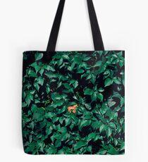 Orange horse in the bush Tote Bag