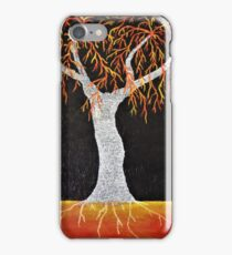 Red Earth Tree iPhone Case/Skin