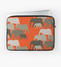 One Little Elephant, Two Little Elephants Laptop Sleeve