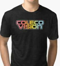 Retro Coleco Vision logo Tri-blend T-Shirt